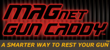 MAGnet Gun Caddy Home - A Smarter Way to Rest Your Gun - Secure It!